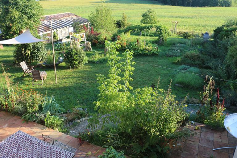 Oasis Les Jardins de Baugnac - Jardin