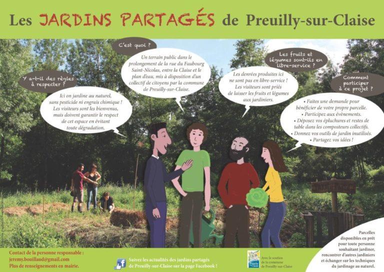 Les Jardins Partagés de Preuilly-sur-Claise - Jardin