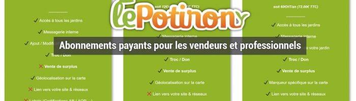 offre abonnement lepotiron.fr